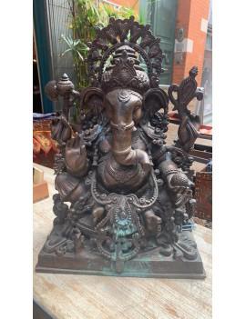 statue en bronze de Ganesh