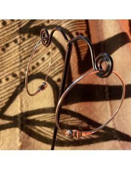 boucles d'oreilles Touareg...