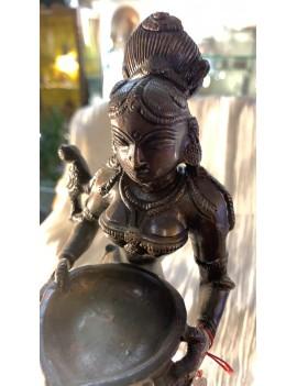 Brass Deep Lakshmi Statue...