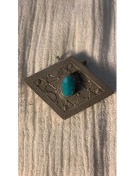 pendentif afghan ancien turquoise
