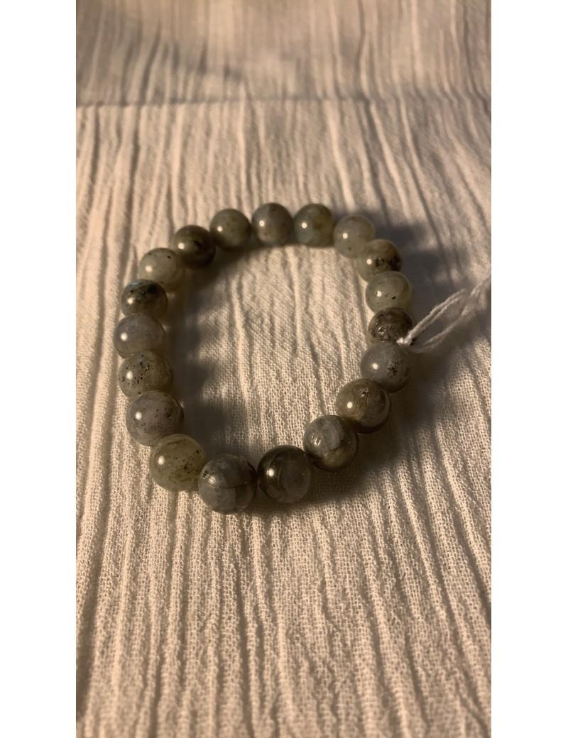 bracelet en pierres semi précieuses Labradorite