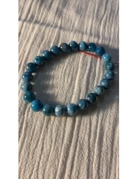 bracelet en pierres semi précieuses Apatite