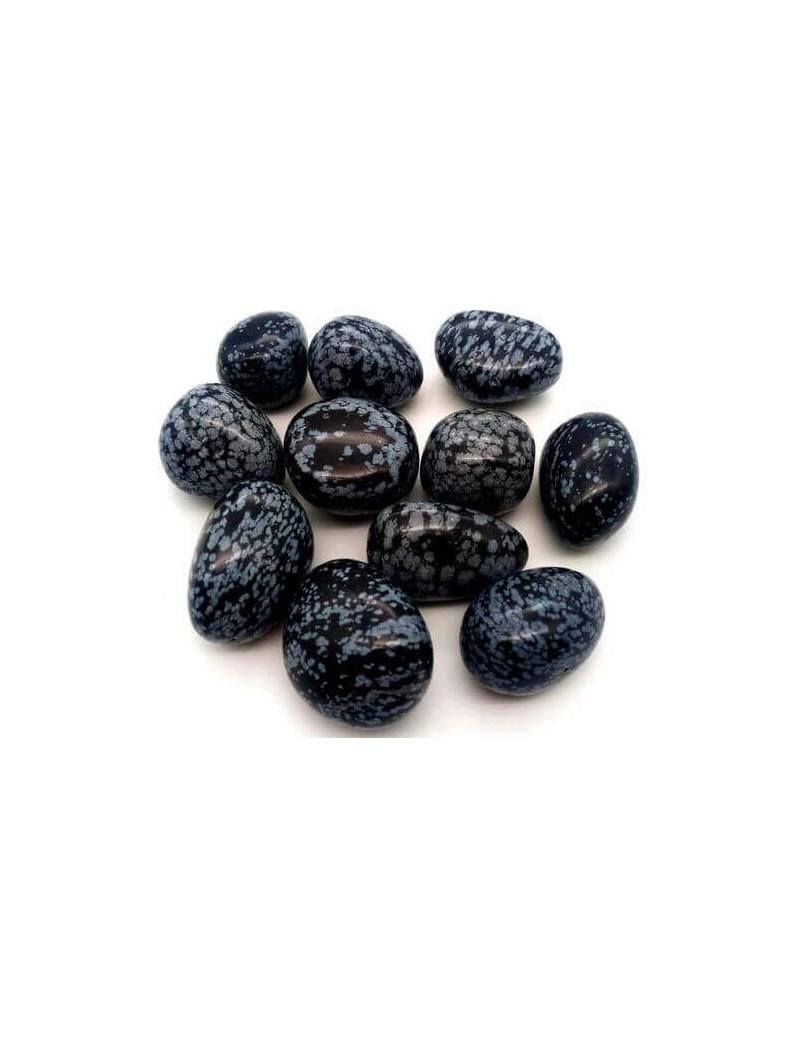 Obsidienne Mouchetée roulées pierres-semi precieuses