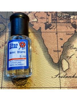 parfum ATTAR musc blanc (inde)