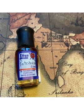 parfum ATTAR Patchouli couleur foncée (inde)