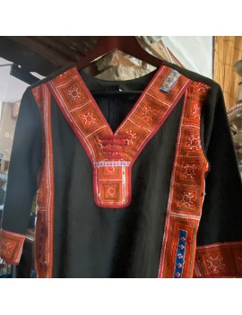 chemise Hmong broderie a...