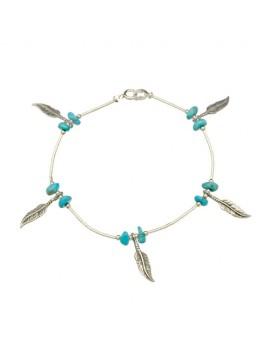 bracelet Navajos argent...