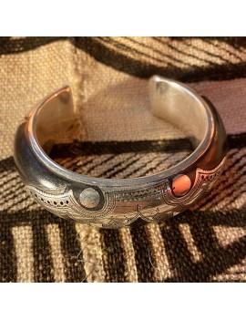 bracelet Touareg en argent...
